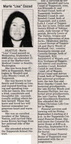 "Marie ""Lisa"" Cozad obituary - Sept 2008 - Class of 1993"