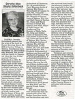 Dorothy (Doyle) Hollenbeck obit - March 2008