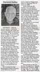 Clarence Gadley obituary - Aug 2008 - possibly Class of 1940?