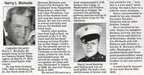 Harry Michaels obituary - March 2010 -  Class of 1942?