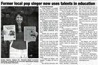 Sunday Heppner article - May 2009 - unknown class year