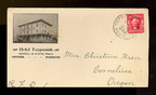 Vintage picture postcard - 1908 - Hotel Toppenish