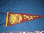 Vintage Toppenish pennant - circa 1960