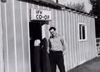 Dave Lang in front of the UFW Co-op.