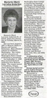 Marj Anderson obituary - April 2009 - former teacher and librarian
