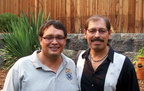Ed (Juan) Orozco '80 and Mike Orozco '75