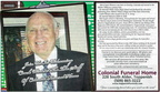 Bob Winters - former Top-Hi teacher & coach - has joined the staff of Colonial Funeral Home  - Feb 2008
