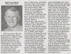 Dell Gere obituary - October 2010 - former Eagle High School principal