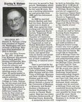 Stan Nielsen obituary - Sept 2010 - former teacher and principal