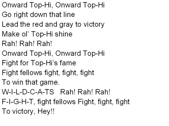 Top-Hi Fight Song