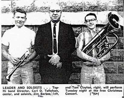 Soloists for 1964 Concert