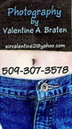 Val Braten business card - Class of '73