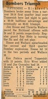 1963.0125 Richland 83 Toppenish 61 High School Basketball Newspaper Clipping