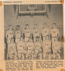 1963.1219 Wildcats 1963-64 Basketball Team Picture