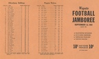 1964.0912 Page 1 Wapato Football Jamboree Program Ellensburg Wapato Toppenish and Sunnyside List of Players from all four teams
