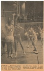1964.1220 Picture Ray Harvey making a shot from the side during West Valley Toppenish Game in Toppenish