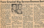 1965.02  Article of Basketball league going into the final weeks of play