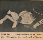 1965.0118 Richard Burlotte nearly pins his opponent vs Wapato