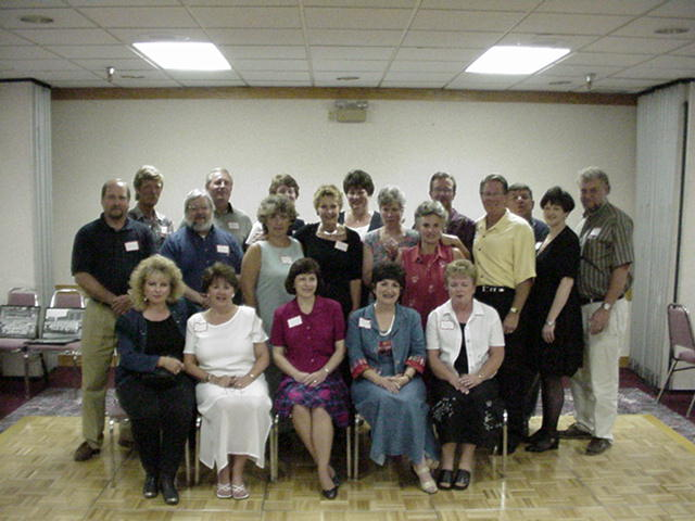 In 2000, the Class of '66 was invited to the Class of '65 reunion.