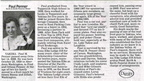 Paul Penner obituary - Oct 2008 - Class of 1939