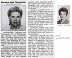 Barbara (Mann) Thompson obit - 2000