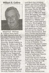 Bill Collins obituary - July 2011 - Class of 1961