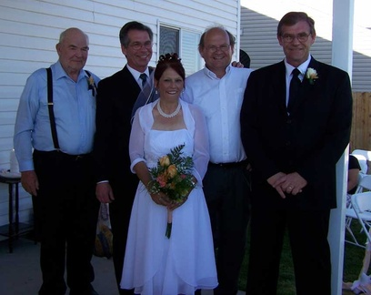 Jeff Lybbert ('75) wedding pic - Aug 2008.