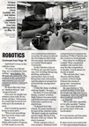 Mike Sutton ('78) article B - YV Tech Skills Center - Robotics