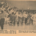 1964.0201 Several articles for Wrestlers Basketball and Honor Society  Interesting and Names of those that Participated